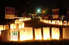luminaria ceremony