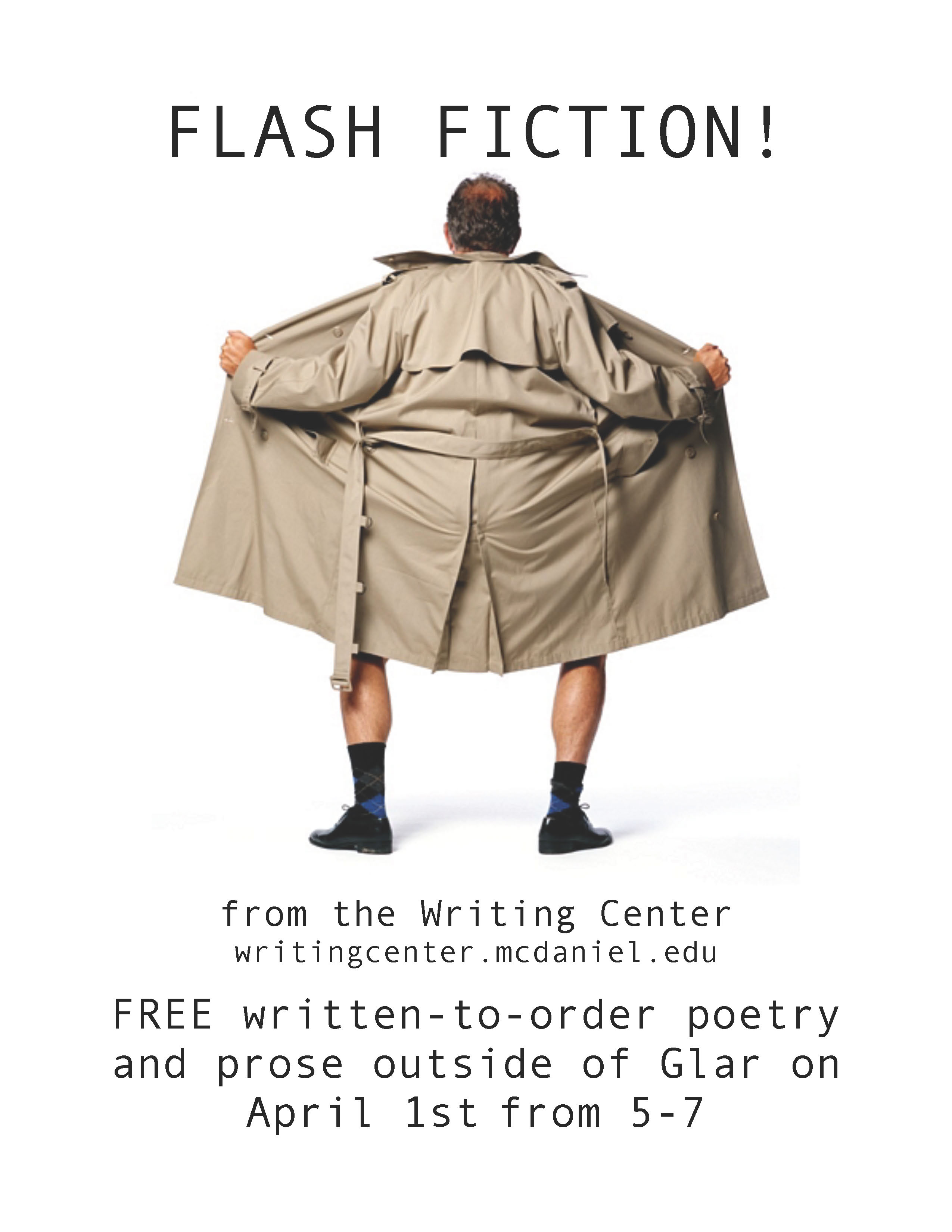 Flash Fiction Poster