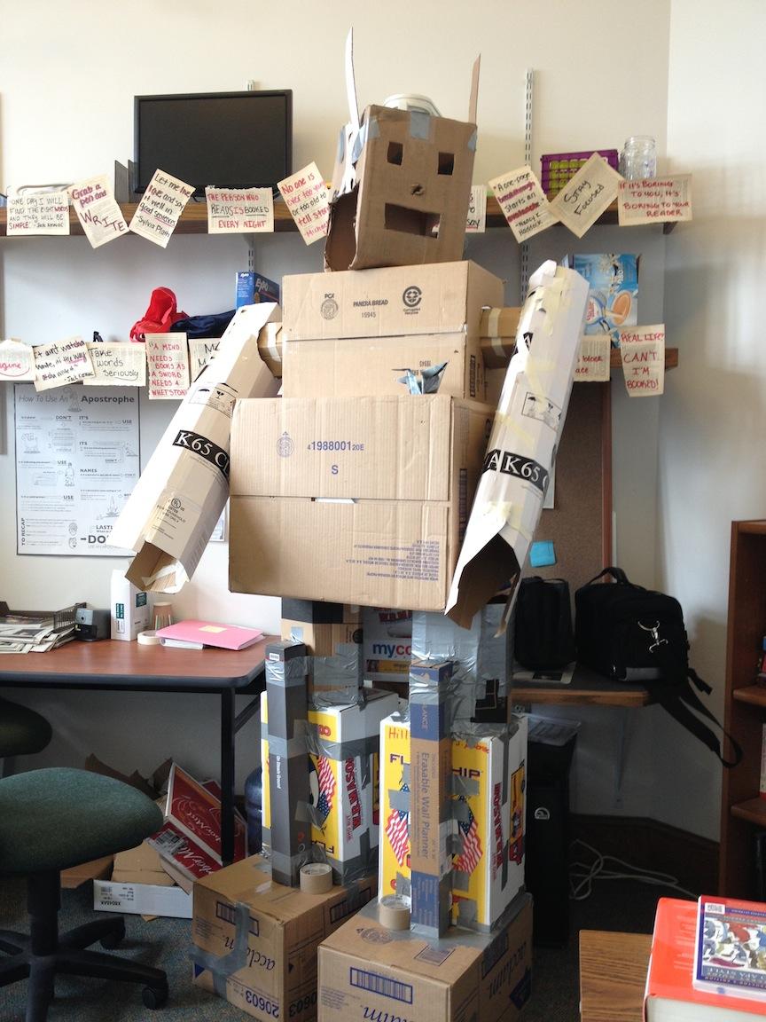 Robots love commas