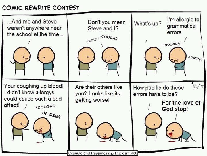 Grammar flaws blow up essay contest?