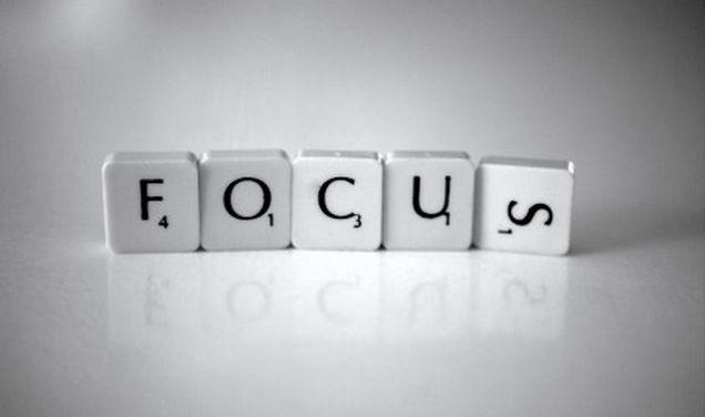 Focus! (on writing).
