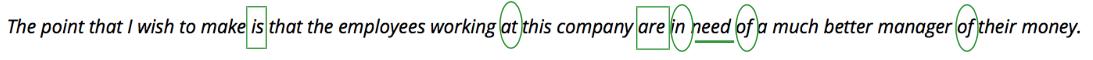 Sentence Using Paramedic Method