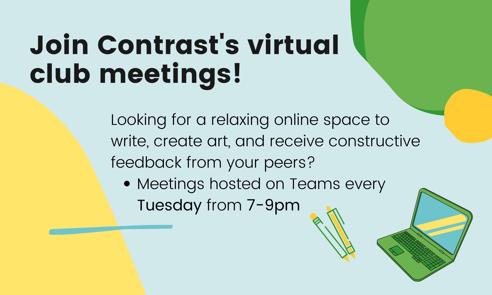 Attend Contrast Meetings