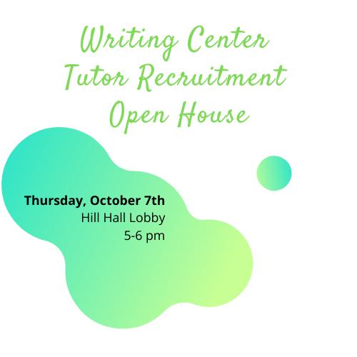 Tutor Recruitment Event